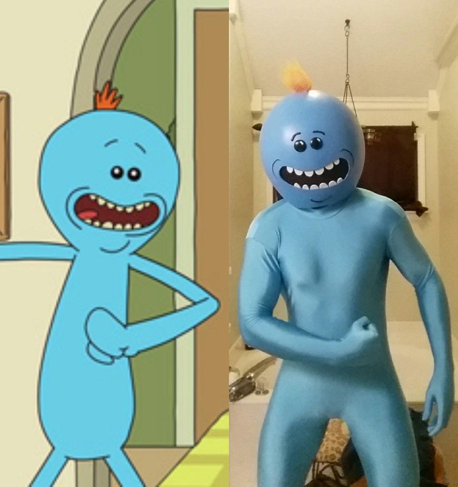 Best 25 Mr Meeseeks Costume Ideas On Pinterest Rick And