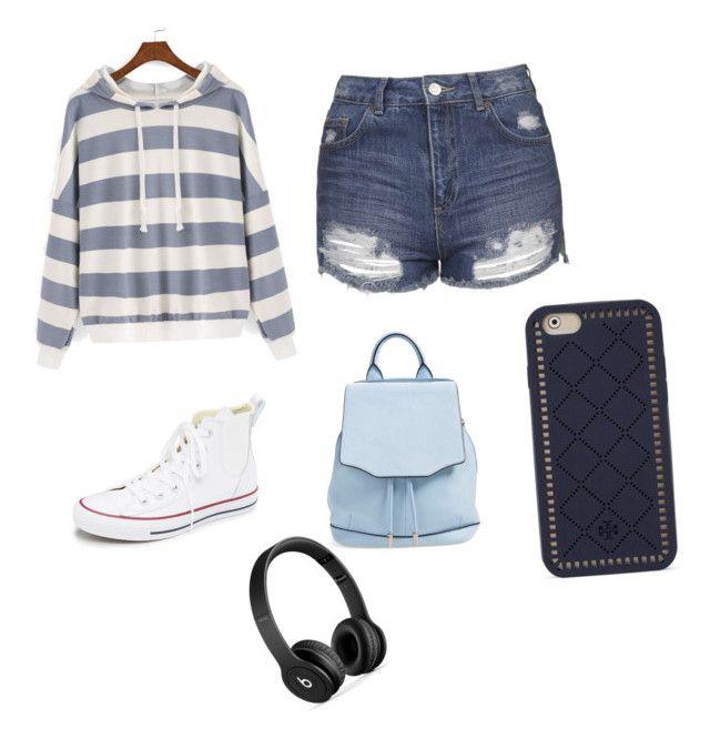 """""""Untitled #26"""" by angiebasta ❤ liked on Polyvore featuring Topshop, Converse, rag & bone, Beats by Dr. Dre and Tory Burch"""