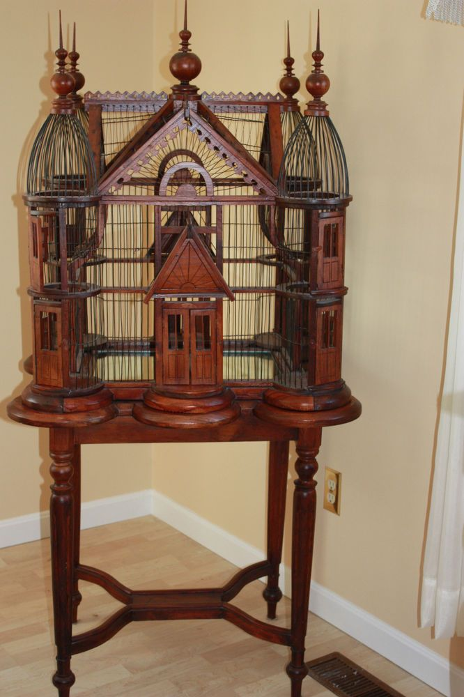 Antique Victorian Style Bird Cage House Wow I Am So In Love With This 3