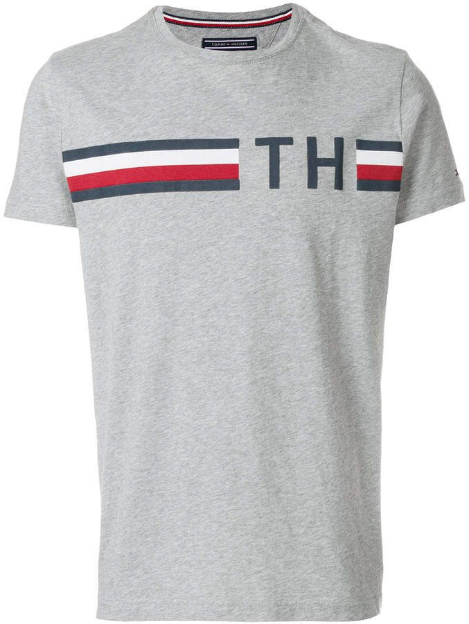 e98420e1e28 Tommy Hilfiger logo print T-shirt