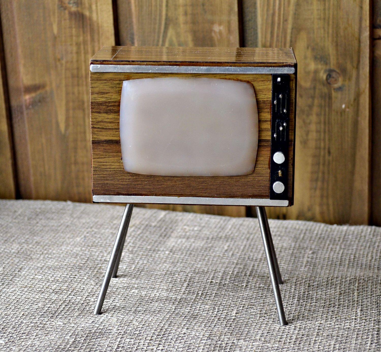 Купить БРОНЬ Телевизор для кукол. - комбинированный, телевизор, куклы, советская игрушка, СССР, Дерево натуральное