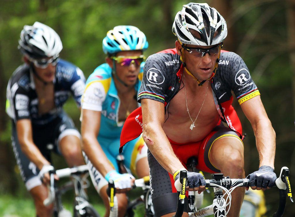 Alberto Contador Lance Armstrong Photostream Andy Schleck Armstrong Tour De France