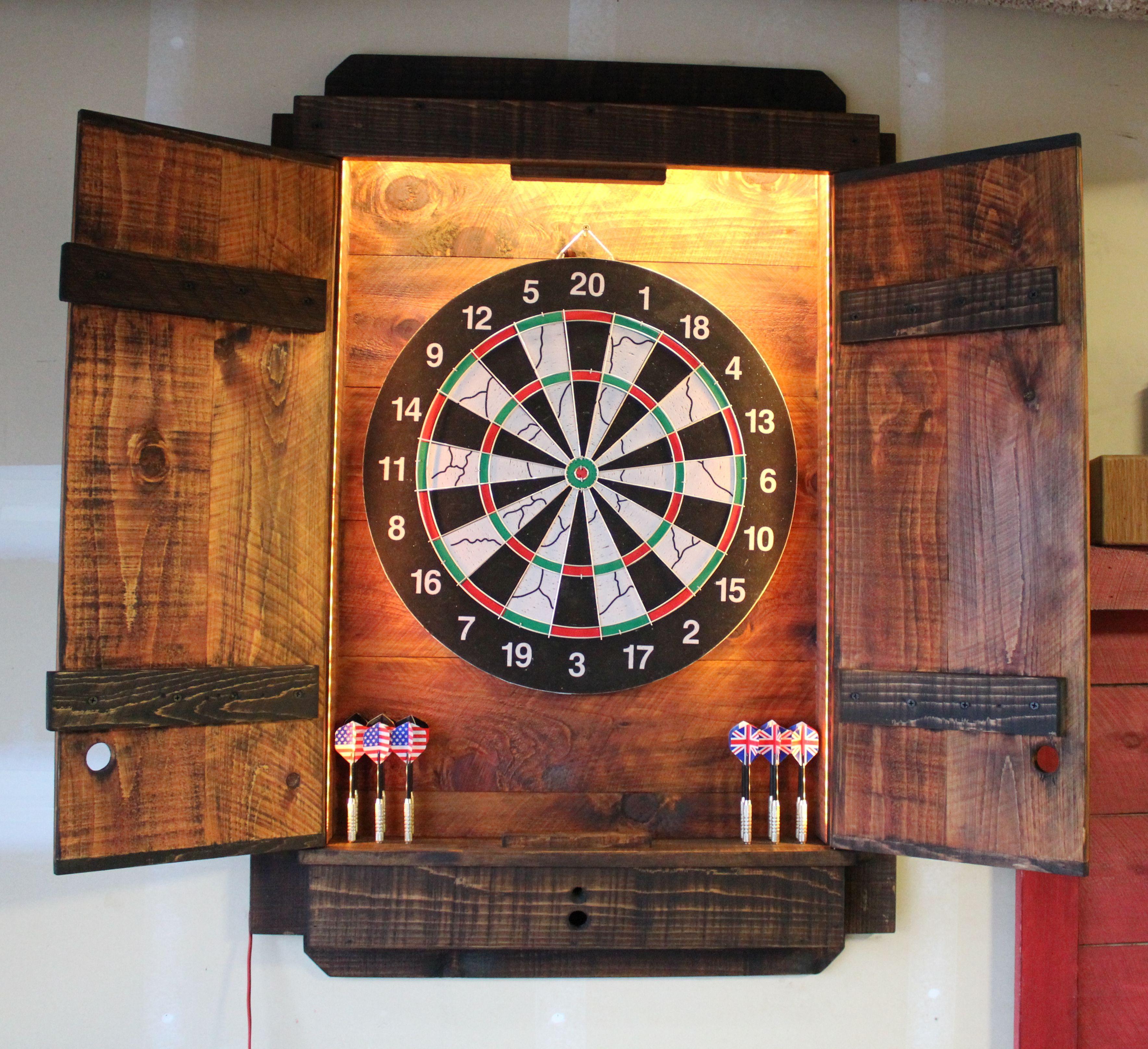 Dartboard Cabinet Light Led Darts Board Throw Line Laser Etsy In 2020 Dart Board Dart Board Cabinet Electronic Dart Board