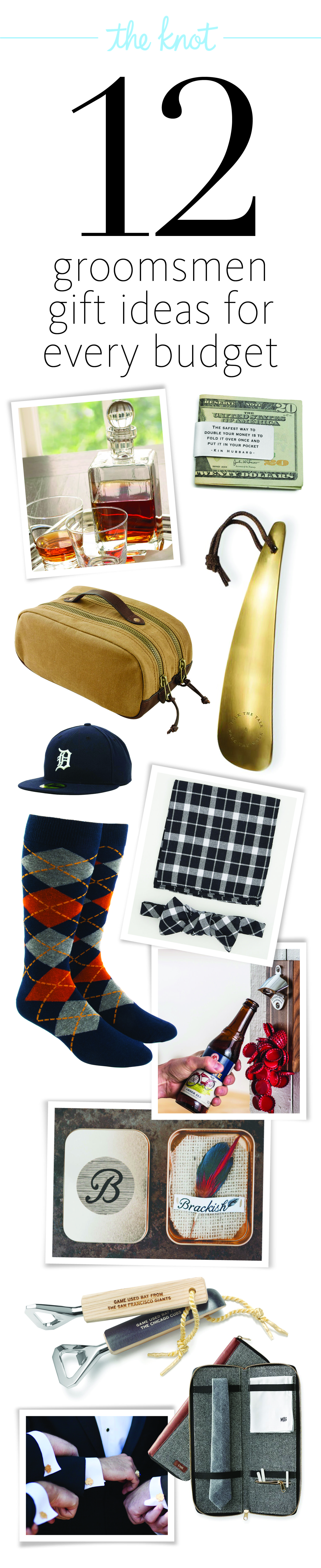 Best Groomsmen Gift Ideas for Every Budget!   Groom & Groomsmen ...