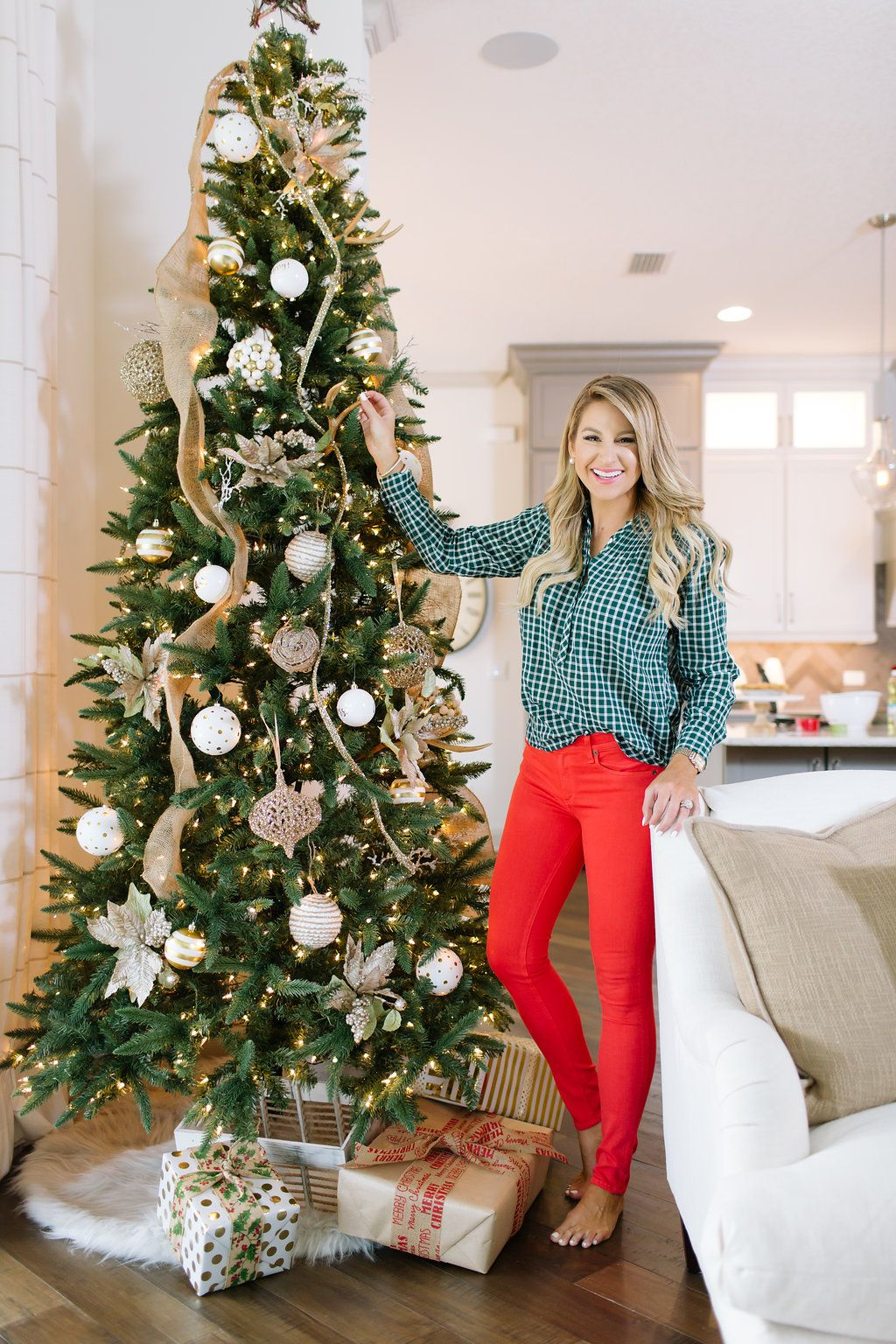 066f18e8eb00 Christmas at Home. What to wear Christmas day at home, at your parents  house, or with your in-laws.