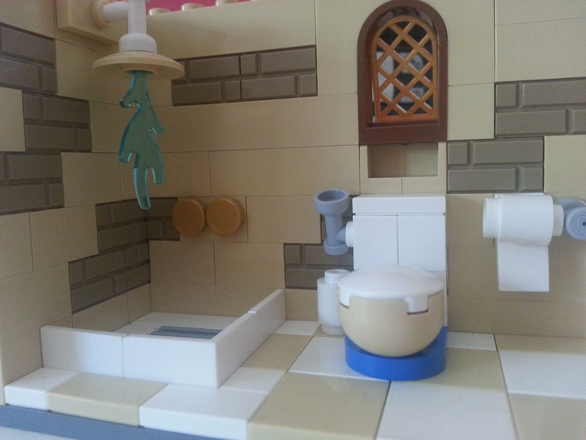 Lego Friends Badezimmer Lego Bathroom Lego Interiors Lego Bathroom Lego Kitchen