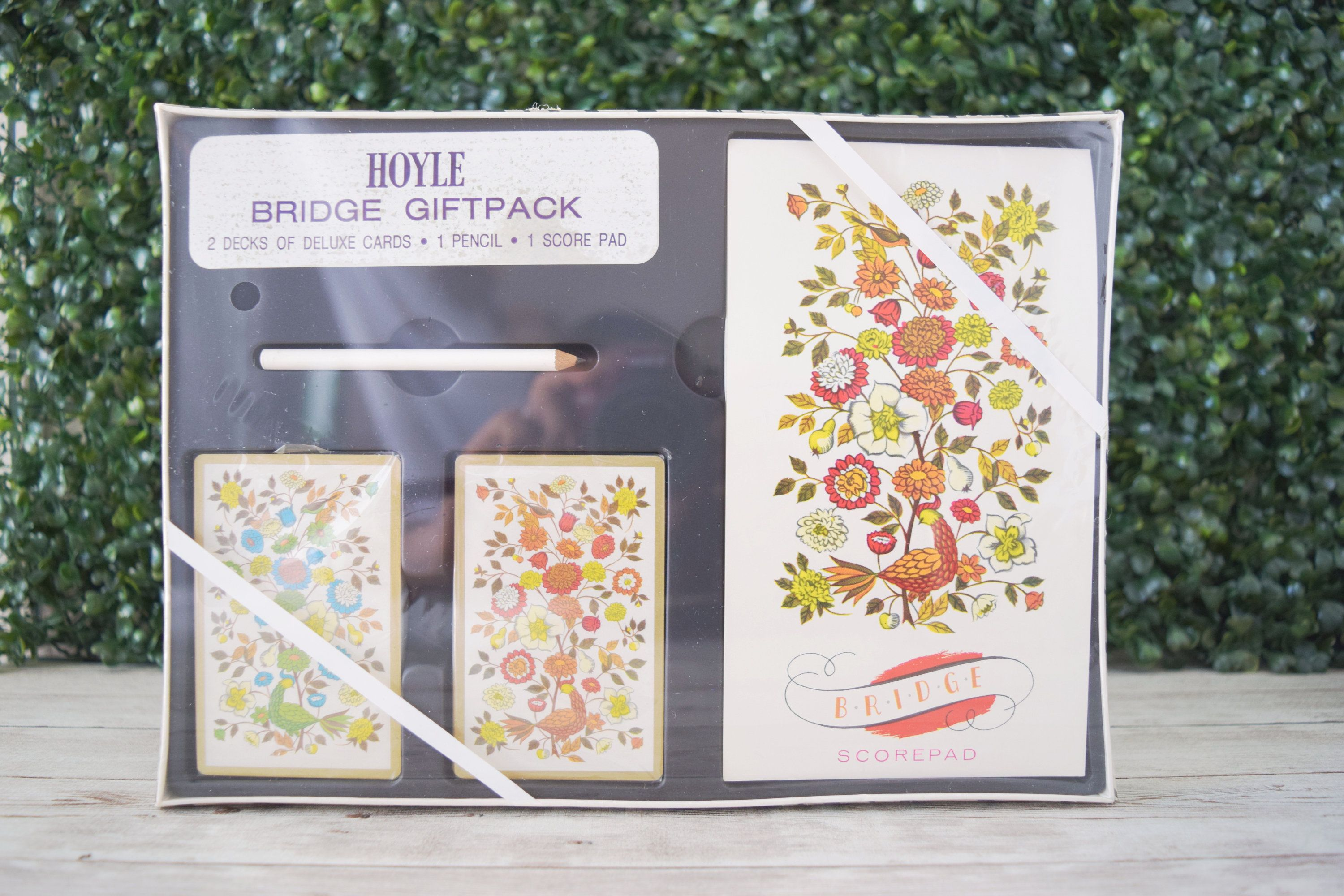 Set Of 2 Full Deck Of Playing Cards For Bridge Game Gift Pack