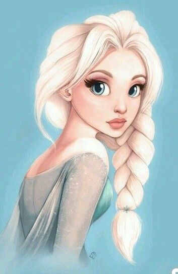 Pin By B Jus Art Design On Elsa Anna Disney Drawings Disney Fan Art Disney