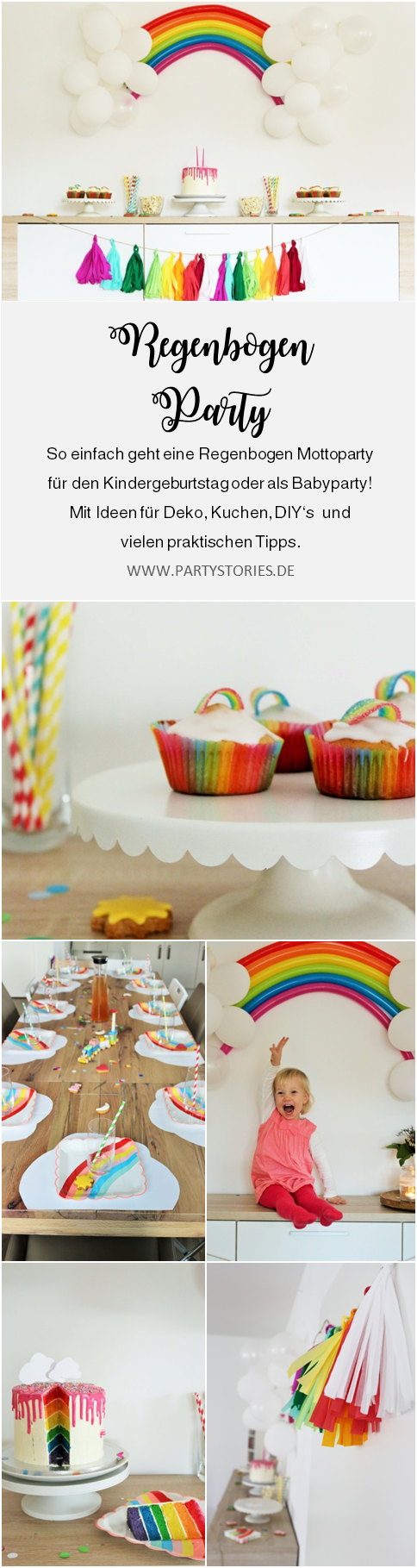 regenbogen party ideen fun games spiele pinterest geburtstag mottoparty und diy. Black Bedroom Furniture Sets. Home Design Ideas