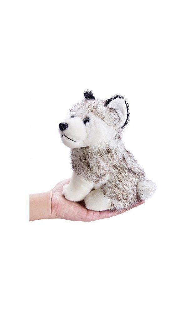 0 Flexibuy 7 5 Siberian Husky Plush Stuffed Dog Puppy Toy