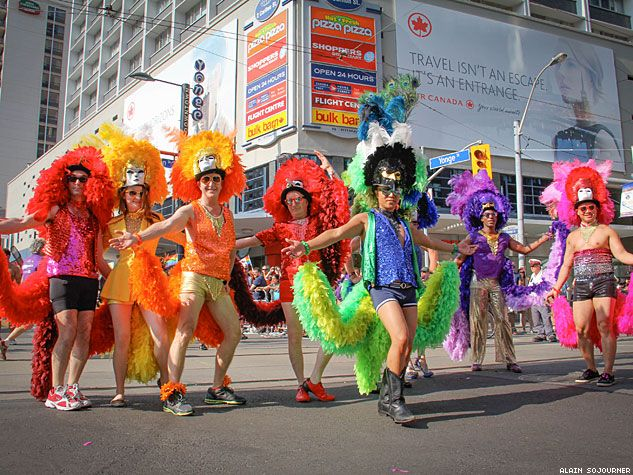 PHOTOS: WorldPride in Toronto - The Grandest of Them All   OUTTraveler.com   The Standard of Gay Travel