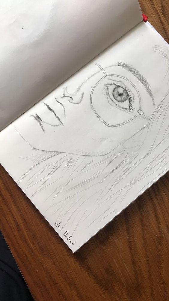 People Drawing people drawings