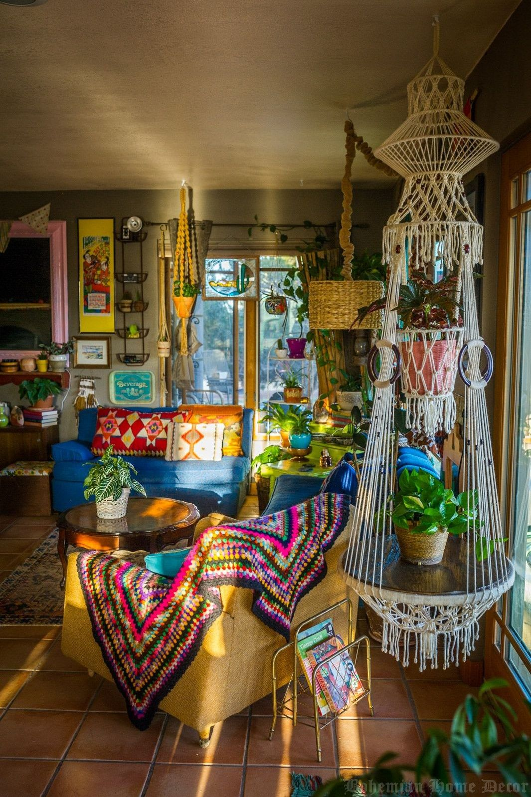 How To Use Bohemian Home Decor To Desire
