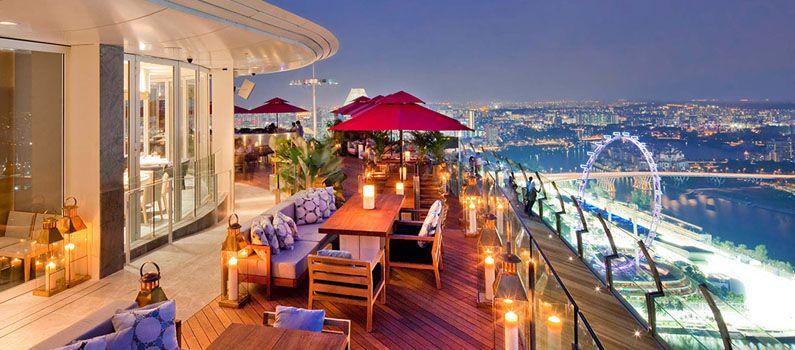 Những bar sân thượng đẹp nhất châu Á