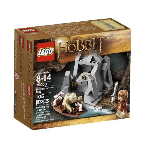 Hobbit And Lotr Lego Sets With Gollum With Images Lego Hobbit