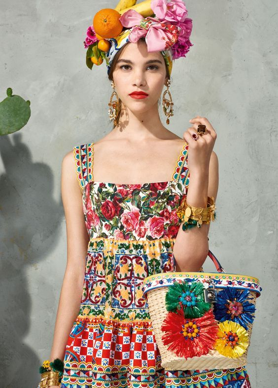2fdca4f8f4c Dolce and Gabbana Mambo Collection. For that perfect tropical flair ...