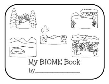 BIOMES Literacy Activity {Desert, Rainforest, Forest