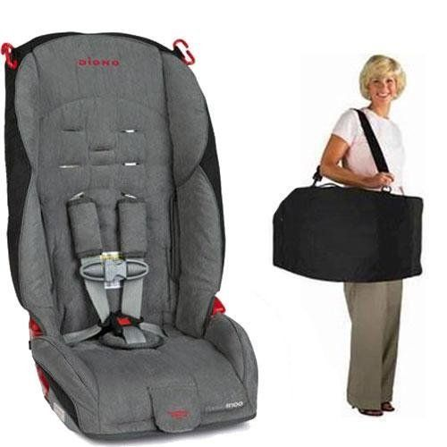 Diono Radian R100 Car Seat With Free Carrying Case Stone SeatsConvertible