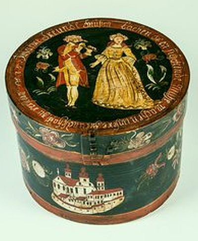 Museum Fur Angewandte Kunst Koln Painted Pantry Painted Boxes Antique Boxes