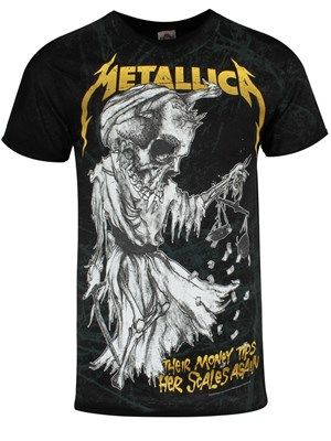 067cec8799e46c Metallica  Official Band Merch - Buy Online at Grindstore - UK Official  Merchandise Store