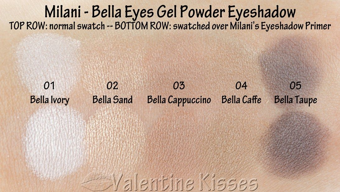 fca2b3e9078c7 Milani has just launched their new Bella Eyes Gel Powder Eyeshadow -- which  start their life as a gel and then through a.