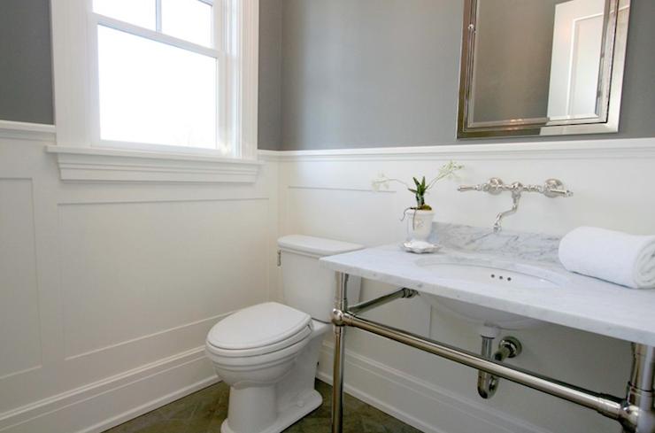 Source Milton Development Modern Bathroom With Gray Paint
