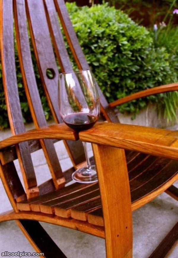 Wine Holder Chair