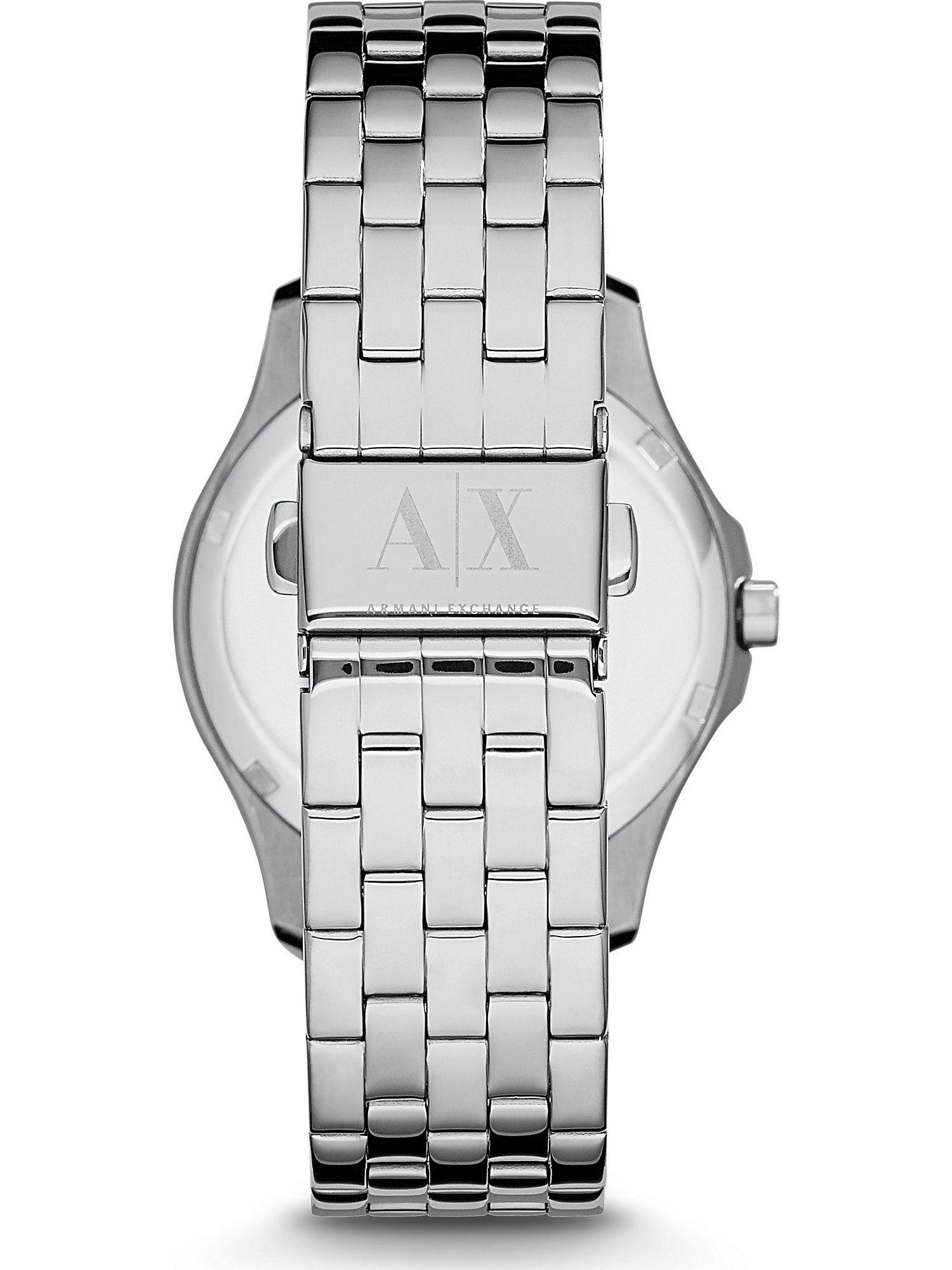 ARMANI EXCHANGE Armbanduhr Damen, Silber, Größe One Size