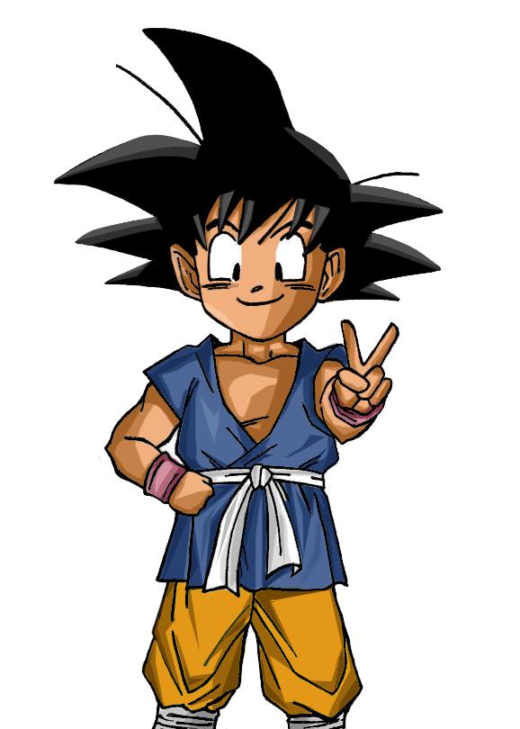 Goku Pequeno Dragon Ball Gt Dragon Ball Gt Dragon Ball Z Goku