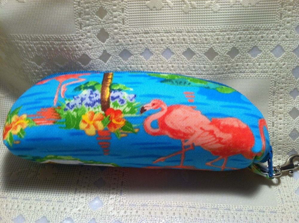Pink Flamingo Beach House Mod Eleaf Cool Fire Seigel ECig Vape Case Handmade