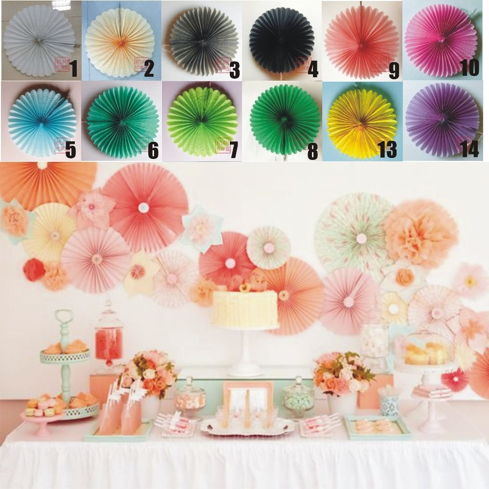 Party And Wedding Photography Backdrop Decor 12 Pomwheels 10 Pompoms Pick Your Colors Birthday Decoration