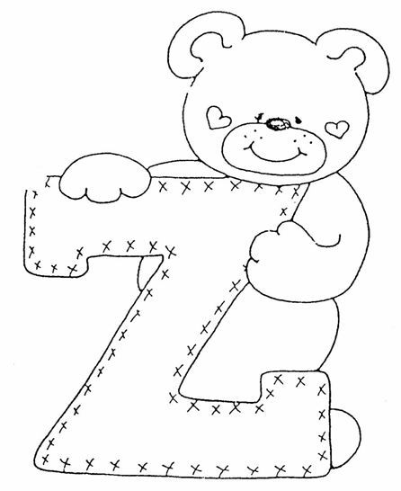 alfabeto de oso | Alfabetos | Pinterest | Teddy bear, Bears and ...