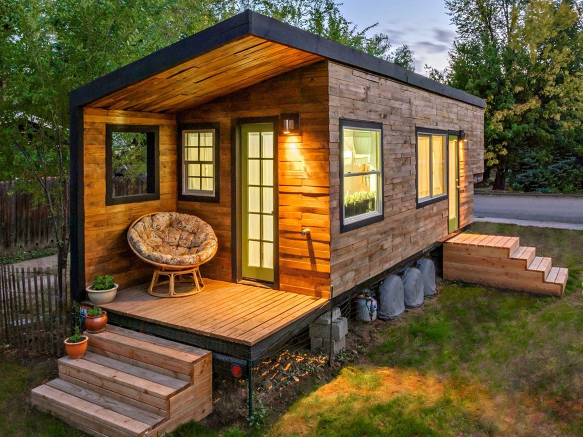 25 Awesome Modern Tiny Houses Design Ideas For Simple And Comfortable Life Dexorate Best Tiny House Wood House Design Wooden House Design