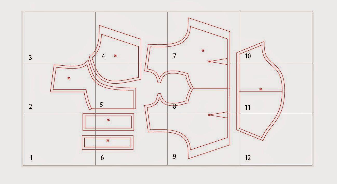 Fashion cad pattern making free sewing pattern download fashion cad pattern making free sewing pattern download princess cut blouse single katori jeuxipadfo Image collections