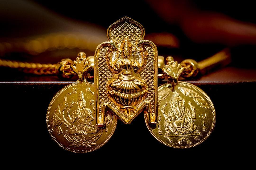 Meaning Of Thaali In Tamil Or Mangalyam Or Mangala Sutra In Sanskrit Among Tamils And Indi Gold Mangalsutra Designs Mangalsutra Designs Dream Jewelry