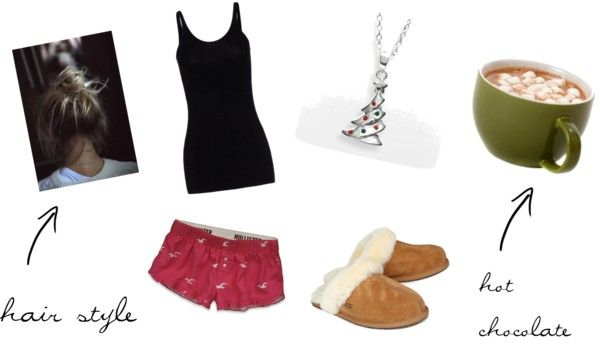 """Christmas Morning"" by mackenzishankle ❤ liked on Polyvore"
