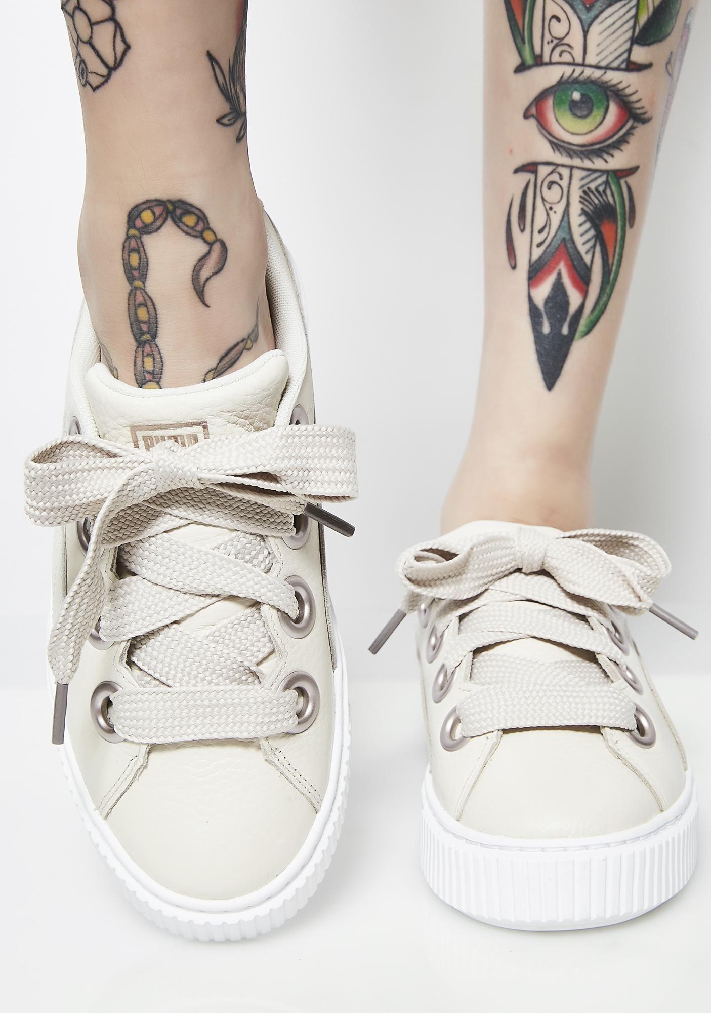 bded5341f6bf PUMA Platform Kiss Lea Sneakers