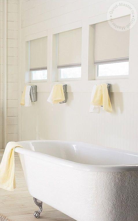 Белые жалюзи в интерьере  #window #interior #спальня #шторы #жалюзи #декорокна #рулонныежалюзи #рулонныешторы #белыежалюзи