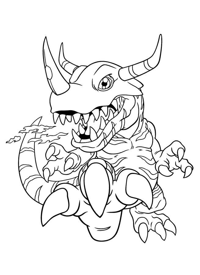 Digimon Coloring Pages Back To Coloring Pages Digimon Category
