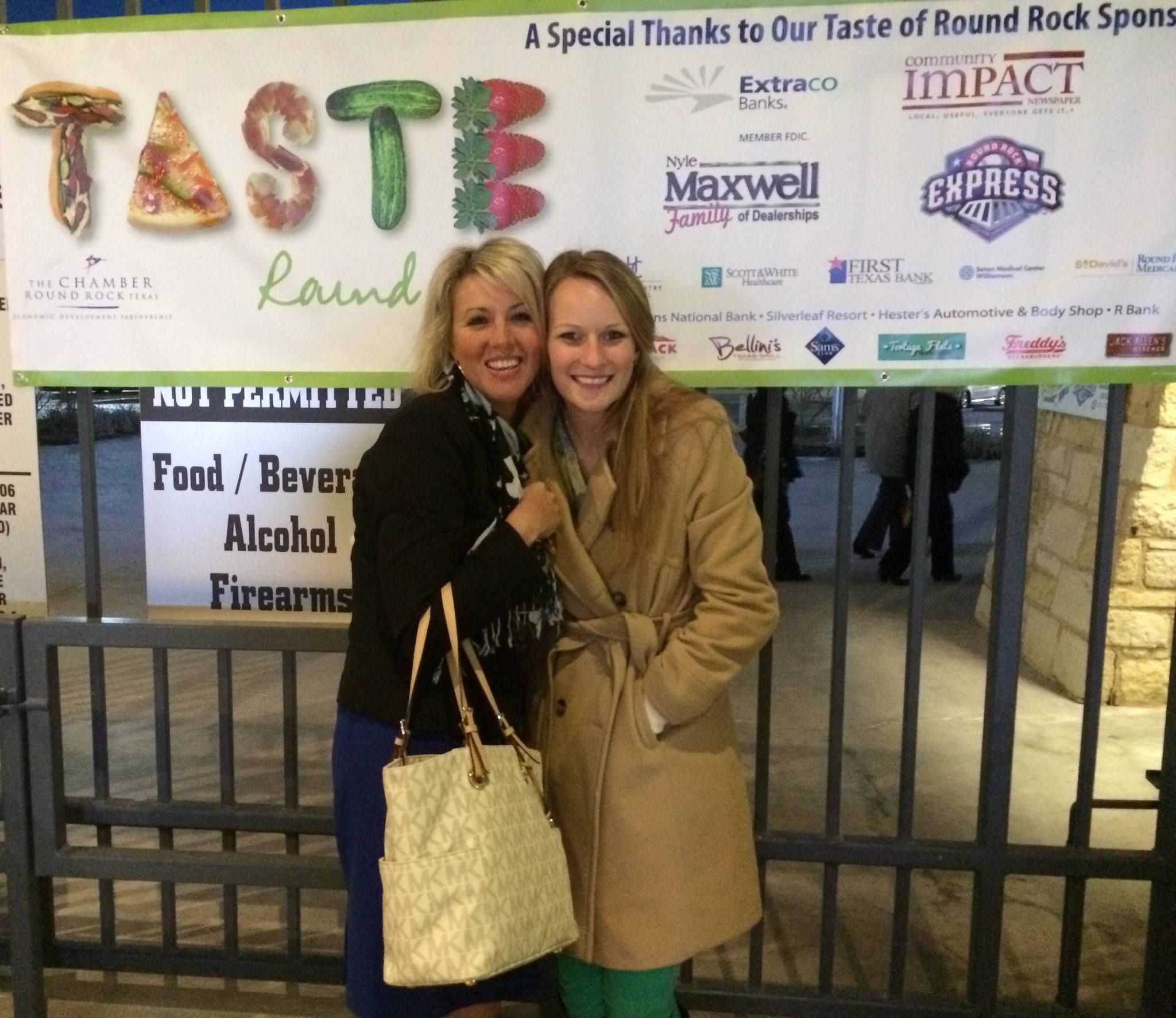 Dr. Whitehouse, attended Taste of Round Rock, an annual