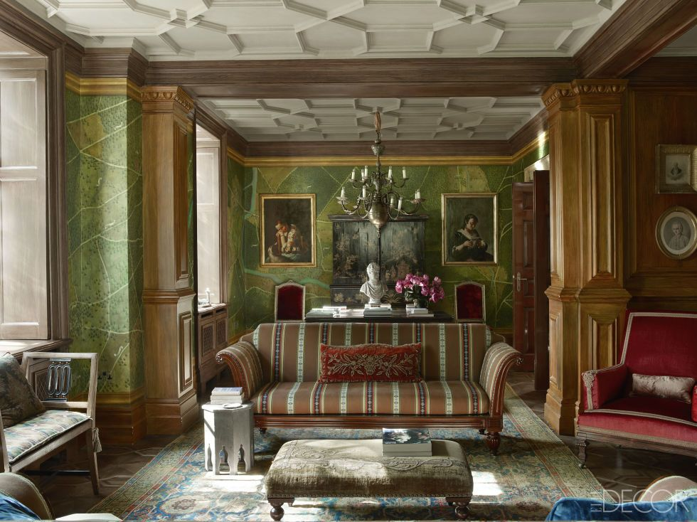 For A 19th Century London Home Studio Peregalli Devises Richly Layered Interiors Dripping In