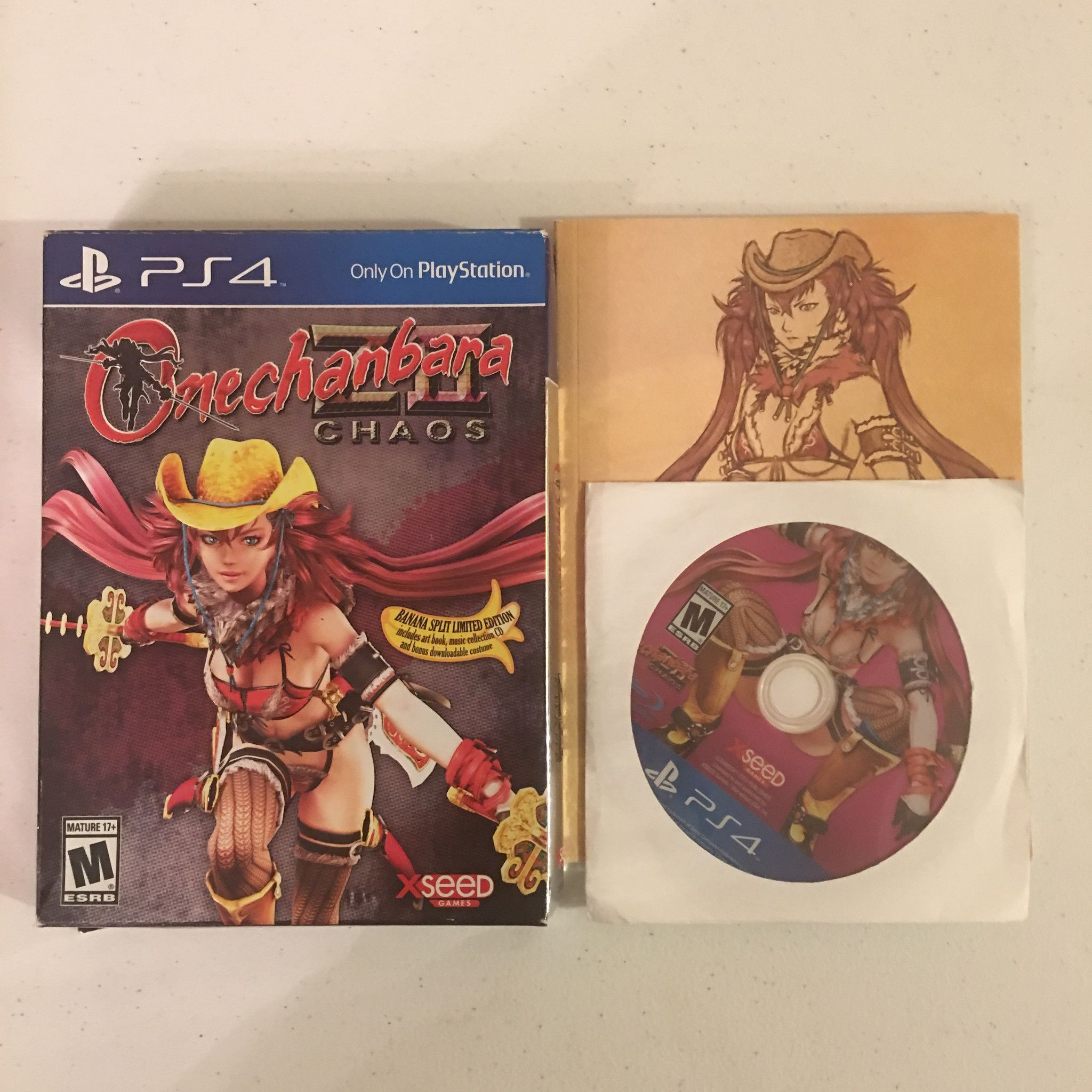 Onechanbara Z2 Chaos Banana Split Edition Missing Case