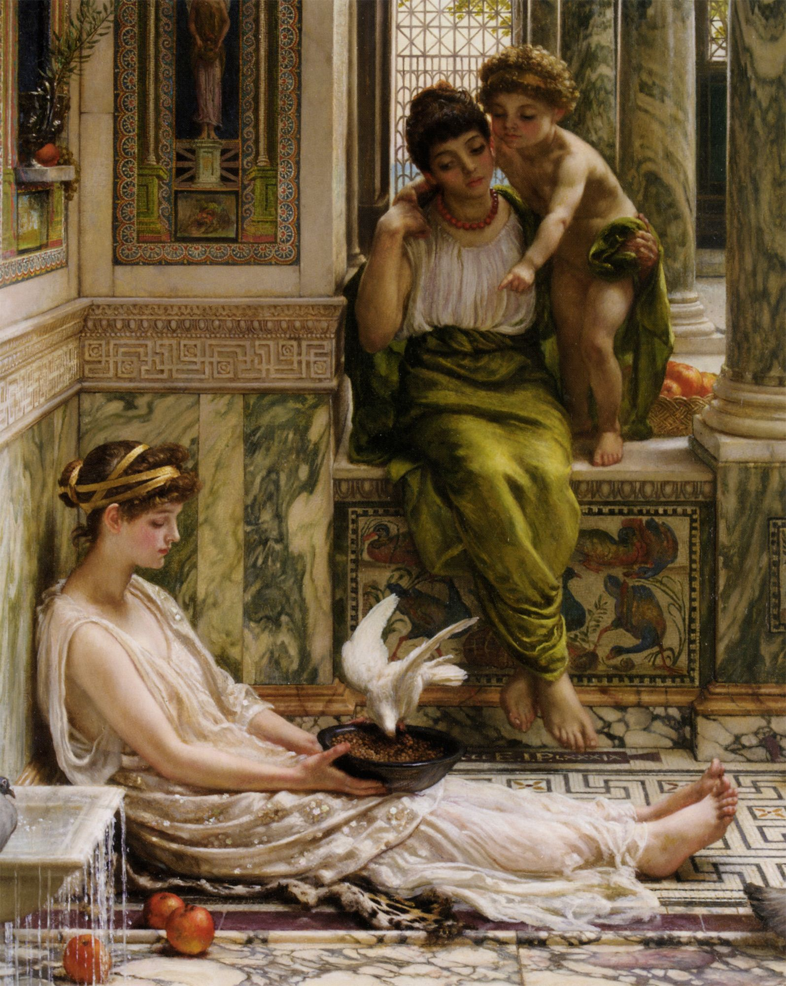 by edward poynter state of art art painting art