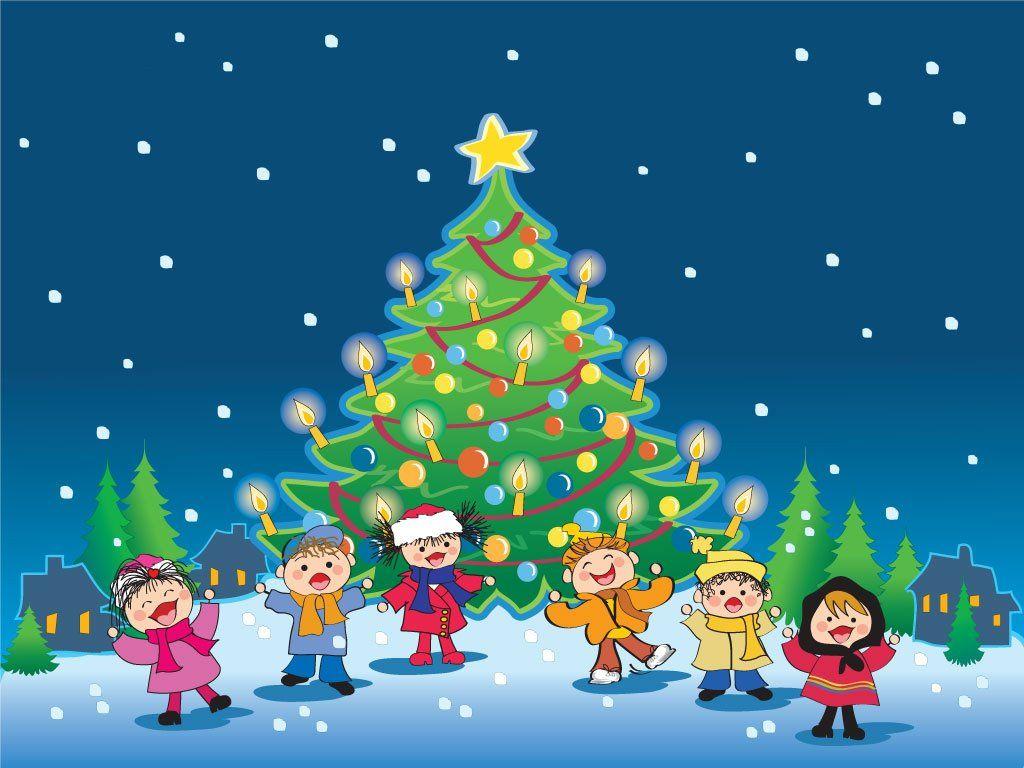 Fondo De Pantalla De Dibujos Animados Navidad Ni Os Nadal  ~ Crismas De Navidad Hechos Por  Ninos