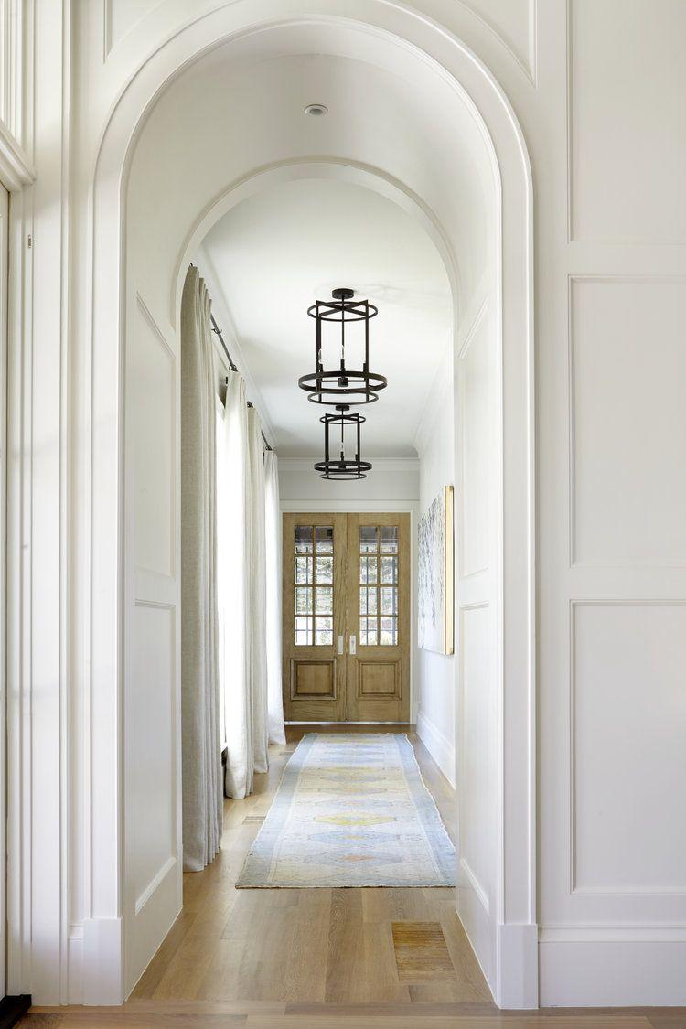 Hallway trim ideas  Pin by Erika Galan on arches doorways windows and trim  Pinterest