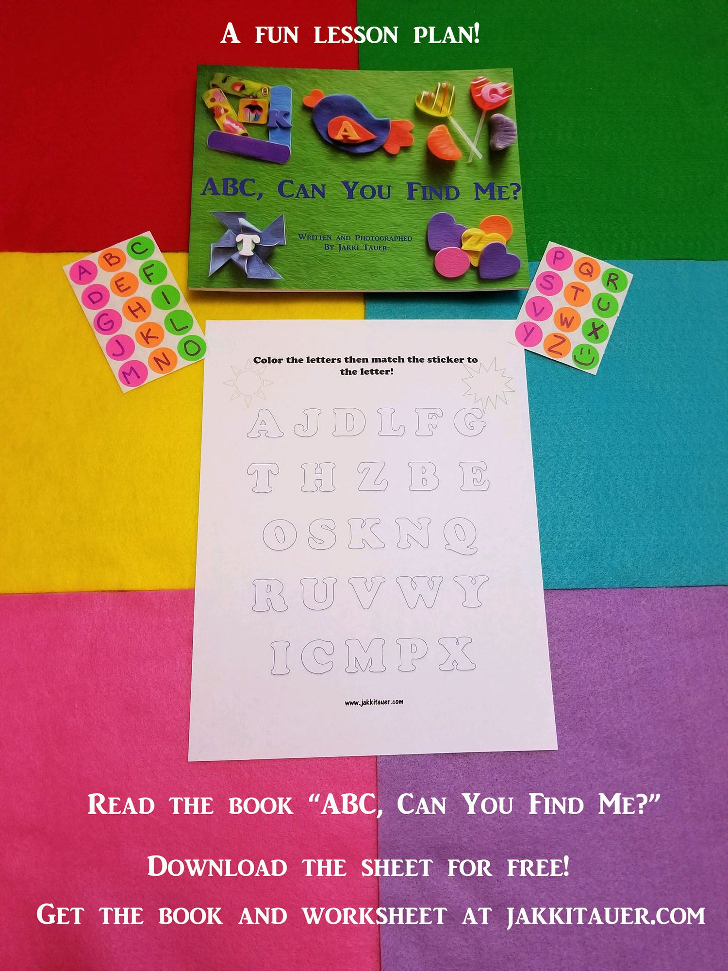A Fun Alphabet Matching Game Read Abc Can You Find Me