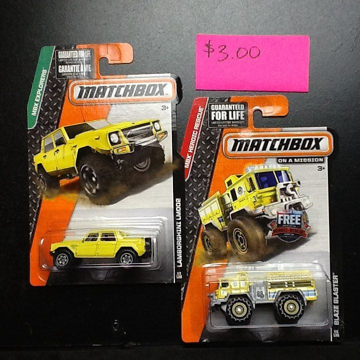 Matchbox cars For Sale 3.00 truck lot Price does not