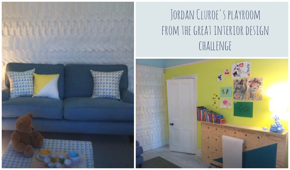 Jordan Cluroeu0027s Playroom From The Great Interior Design Challenge