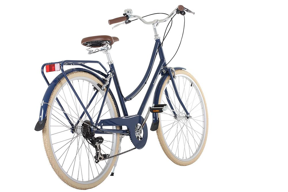 The Perfect Classic Blue Bicycle Bobbin Brownie In Blueberry