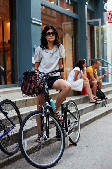 A CUP OF JO: Sartorial bike